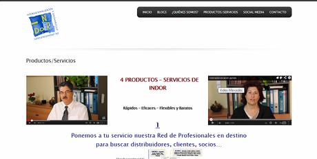 Mercedes Herranz, Antonio Palacián, productos/servicios indor