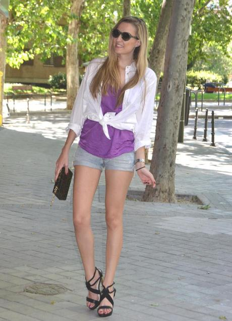 Shirt and sandals by Venca