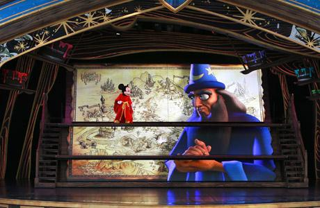 Mickey and the Magical Map, Disneyland