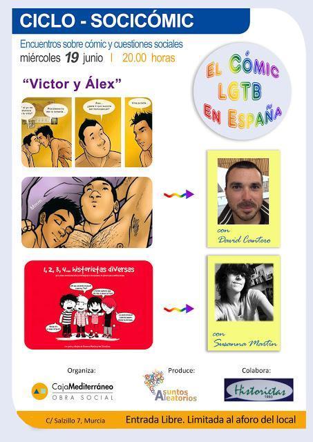 .:David Cantero con Víctor y Álex en Murcia:.