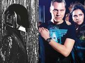 Música moda: Daft Punk Hedi Slimane, Tiësto GUESS