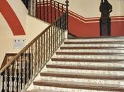 Casa Pinelo (4): escalera.