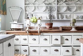 Una cocina estilo shabby chic paperblog - Cocinas estilo shabby chic ...