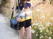 Floral Print YellowAholic Girl