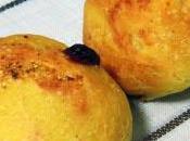 Panecillos chocolate blanco aroma naranja azafrán