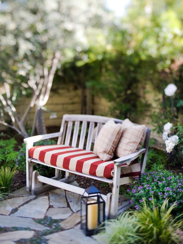 Un banco de jard n inspirador paperblog - Banco de jardin ...