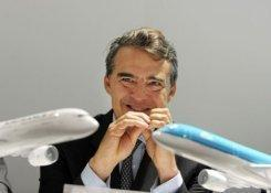 El director general de Air France, Alexandre de Juniac, este 19 de junio de 2013 en Le Bourget (París).