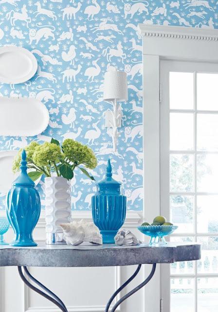 Decorar las paredes con papel pintado paperblog - Decorar con papel pintado ...