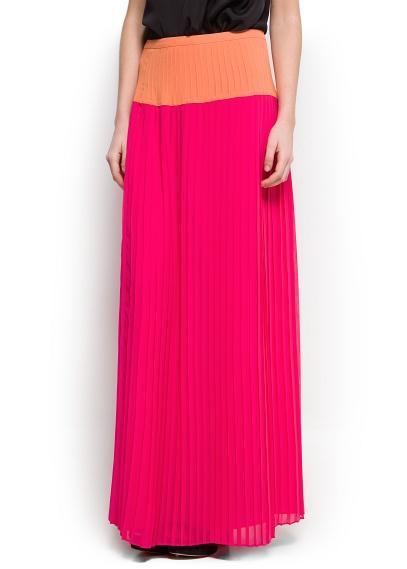 Купить длинные плиссированные юбки 7
