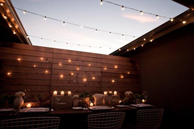 Quedamos en la terraza paperblog for Luces led para terrazas