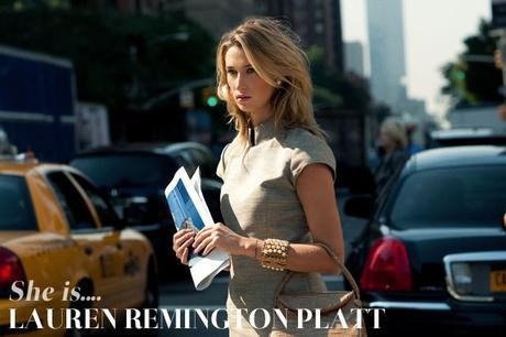 She is... Lauren Remington Platt, Vênsette founder and CEO