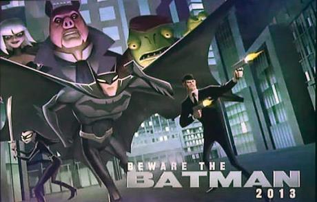 beware the batman serie animación