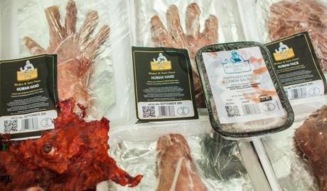Carne humana a la venta en Londres