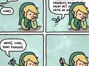 para pedirle ayuda Link, día...