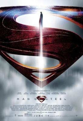 poster man of steel superman