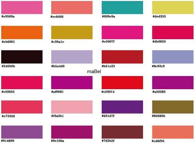 Dise oh - Que colores pegan ...