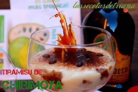 Tiramisu de Chirimoya para #gastroalmunecar2013