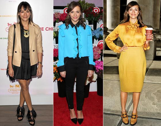 El look de Rashida Jones