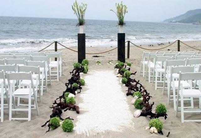 Boda en la playa ideas para la ceremonia paperblog for Garden wedding designs philippines