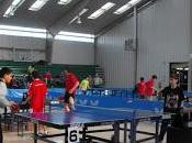 gran éxito inició sexto liga escolar tenis mesa