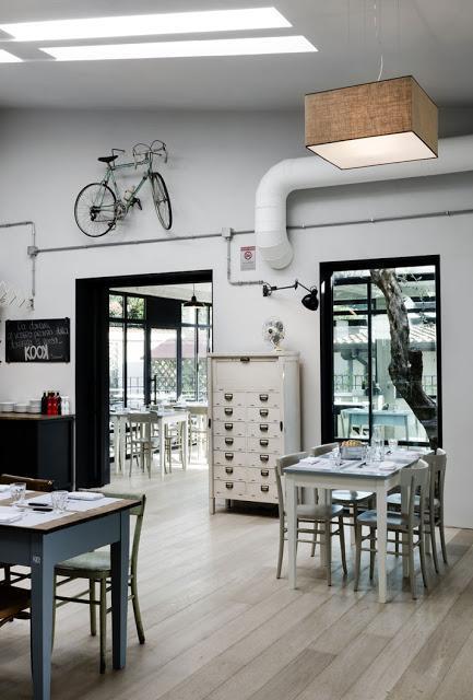 KOOK: Una pizzería de estlio industrial en Roma | Etxekodeco
