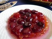 Mini tarta tatin cerezas