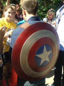 Rodaje de Capitán América: El Soldado de Invierno