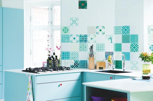 Baño Color Verde Agua:Apartamento de estilo Mediterraneo – Paperblog