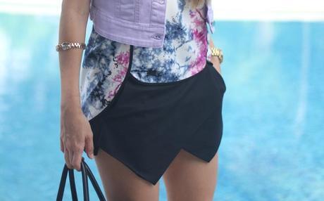 Skort fashion blogger