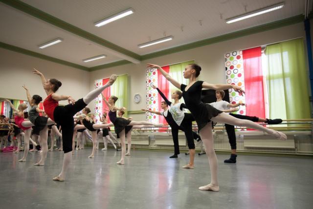 Балет мастер класс