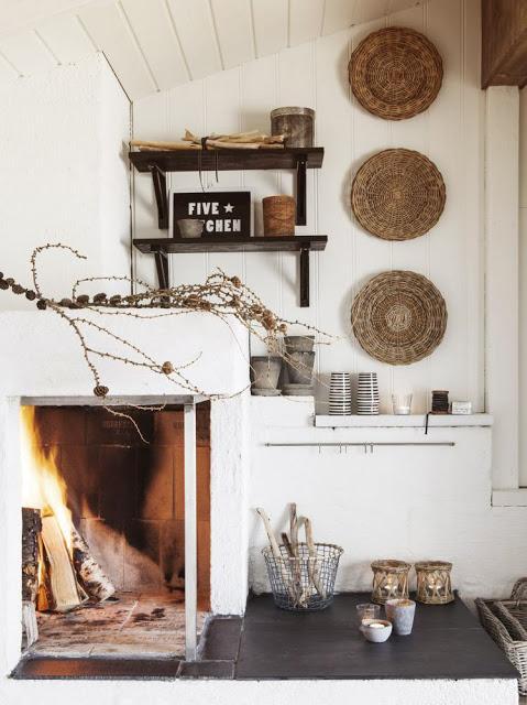 Decorar las paredes con cestos de mimbre paperblog - Decorar mi casa reciclando ...