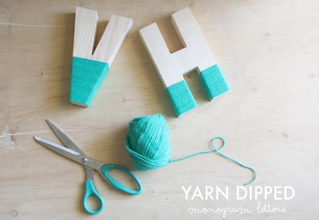 5 formas de decorar letras paperblog - Como decorar letras de madera ...