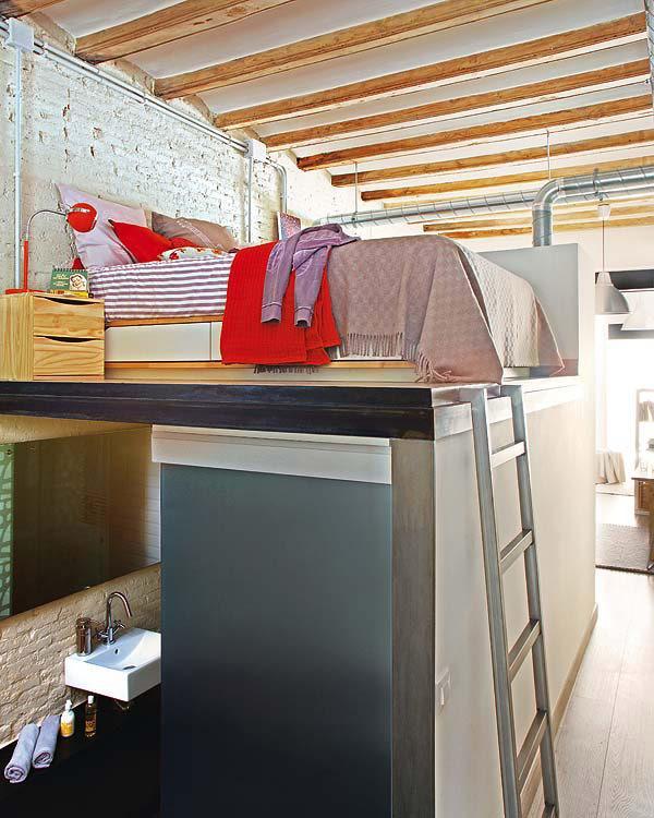 Mini apartamento en barcelona claves deco low cost - Mini apartamentos ...