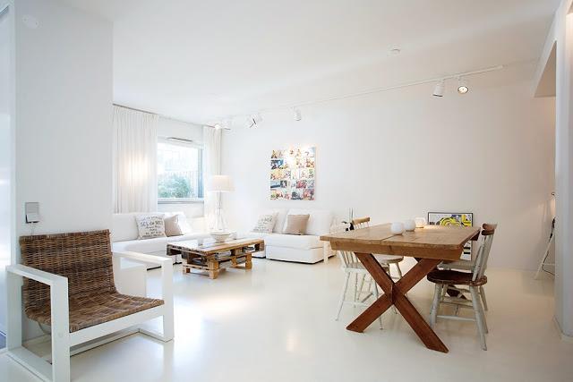 Un piso con muebles de palets paperblog for Muebles de bano con palets