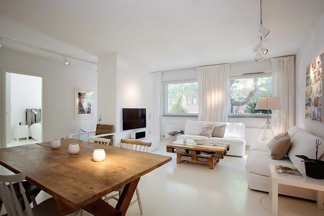 Un piso con muebles de palets paperblog - Muebles para piso completo ...