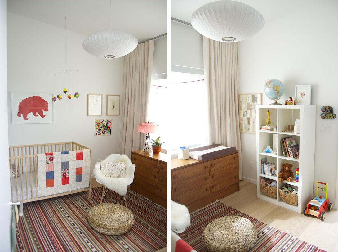 inspiracion cuartos de bebe en tonos neutrales