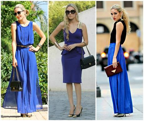 Black and Blue Outfits