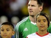 Messi hizo delicias público Colombia partido fines benéficos