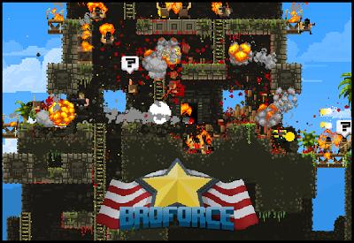 Broforce, el juego que los héroes de acción de los 90 se merecían