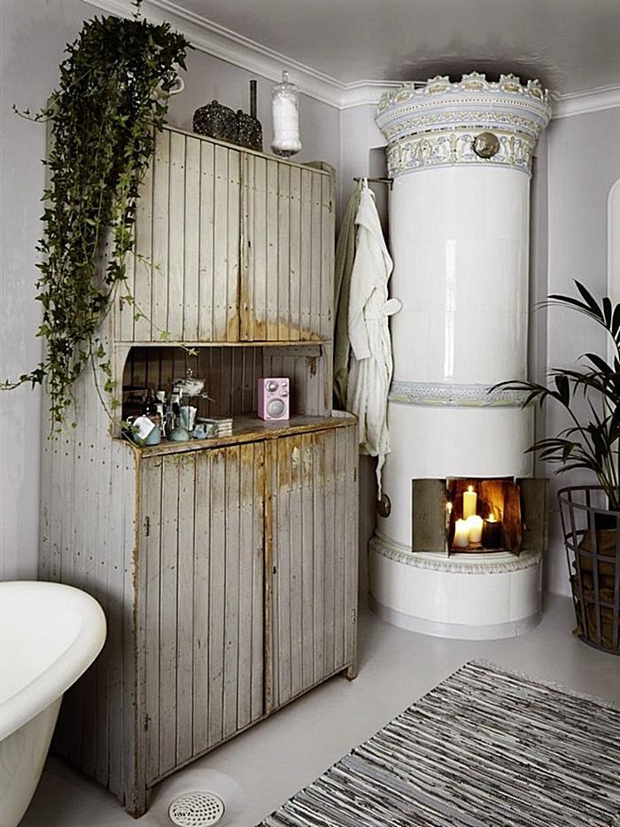 Baños Rusticos Vintage:espacios: baño rústico con piezas vintage! – Paperblog