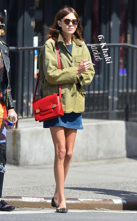 Alexa Chung wants you to purchase basic items on sales!