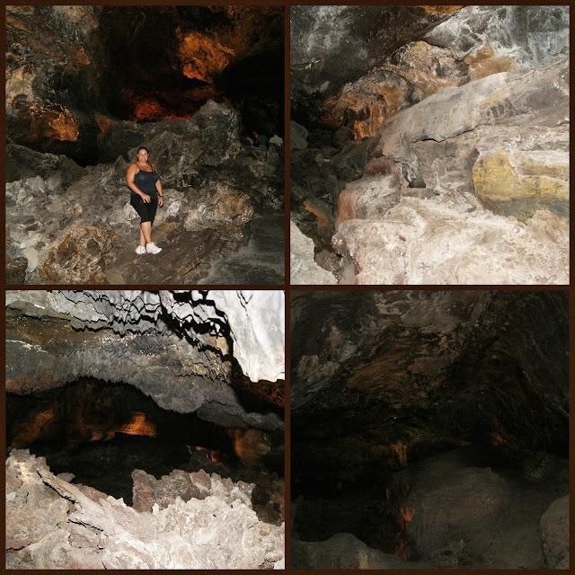 Cueva de los verdes jameos del agua y jardin de cactus paperblog - Se puede banar en los jameos del agua ...