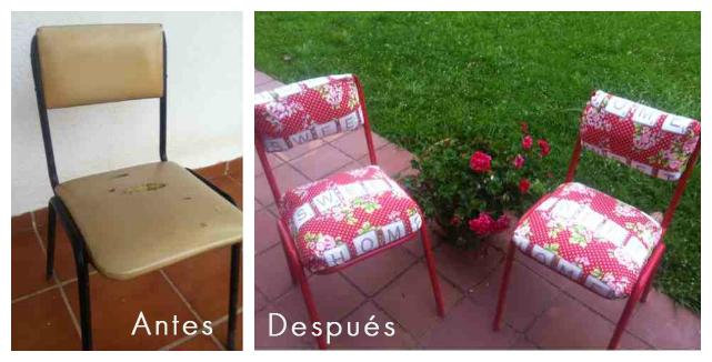 DIY Antes y Después '13: Las sillas de la basura de rlagufer