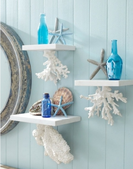 El mar y la playa como estilo interior paperblog for Beach inspired bathroom designs