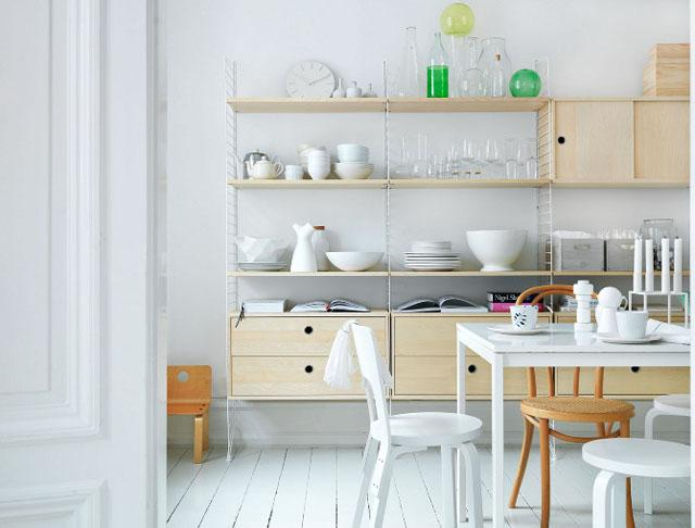 Tr s recomienda estanter a de dise o escandinavo paperblog for Estanterias estilo escandinavo