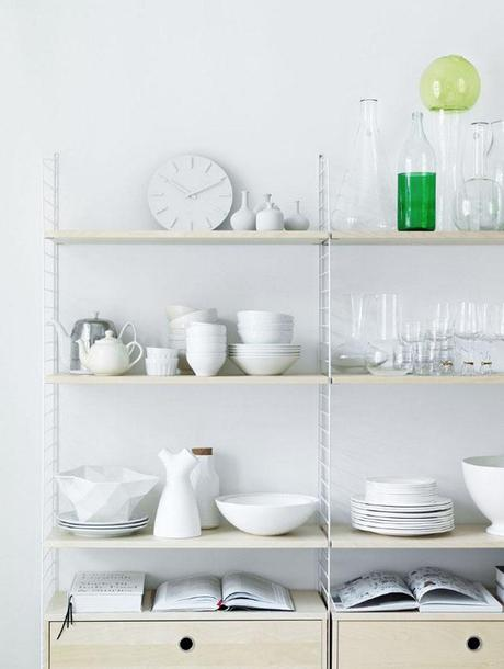 três recomienda: estantería de diseño escandinavo