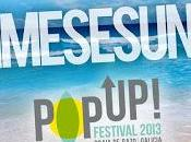 Horarios PopUp! Festival 2013