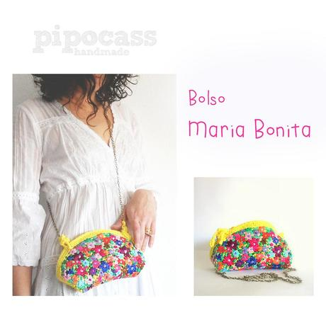 Bolso crochet Maria Bonita