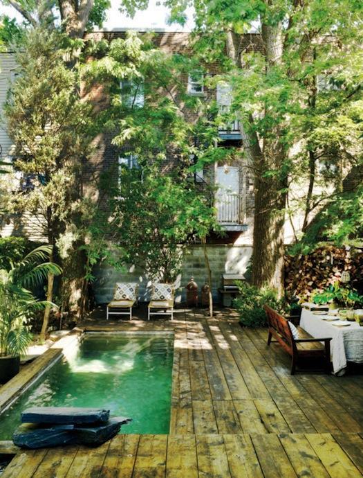Un jard n oasis urbano en montr al paperblog for Jardines oasis valdetorres