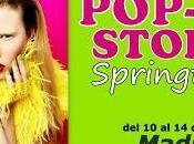 Pop-up store springtime